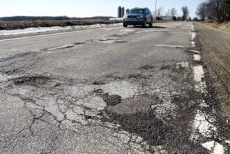 Area's Worst Roads